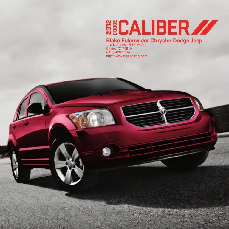 2012 dodge caliber for sale tx dodge dealer near fort worth. Black Bedroom Furniture Sets. Home Design Ideas