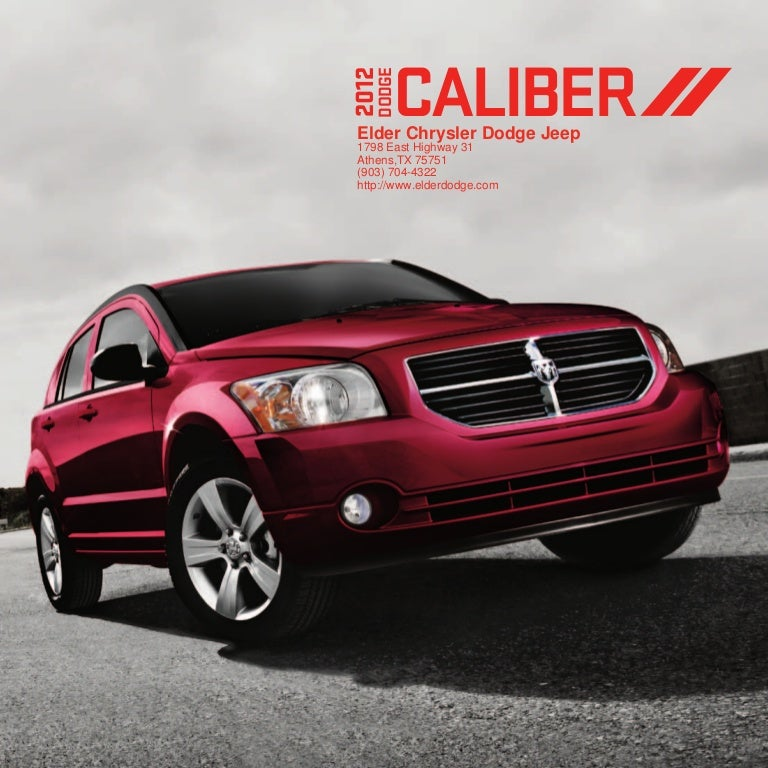 2012 Dodge Caliber For Sale TX