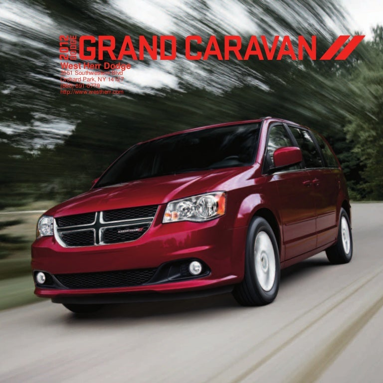 2012 Dodge Grand Caravan For Sale NY
