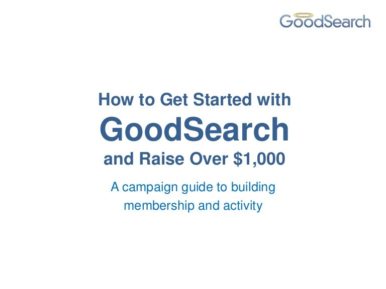 goodsearch add coupon