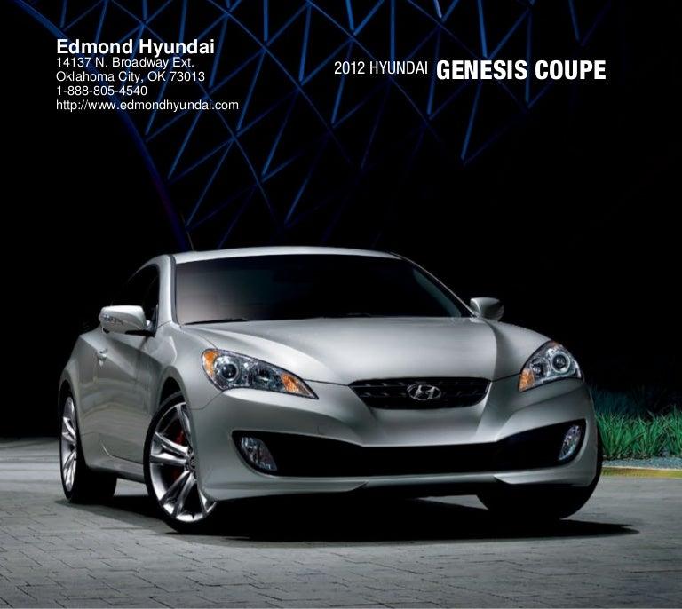 Hyundai Civic For Sale: 2012 Hyundai Genesis Coupe For Sale OK