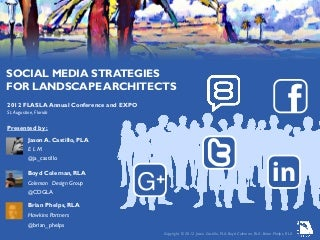 Social Media for Landscape Architects