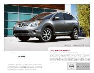 2012 Nissan Rogue brochure by Neil Huffman Nissan Louisville KY