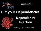 Cut your Dependencies with Dependency Injection for East Bay.NET User Group