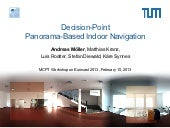Decision-Point Panorama-Based Indoor Navigation