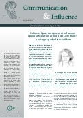 Communication & influence n°42 (mars 2013) - Invitée : Patricia Adam