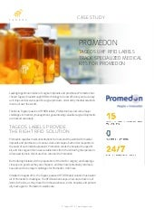 Tageos Case Study Healthcare - Promedon