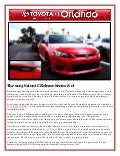 2013 Scion tC Release Series 8.0 is in Orlando!