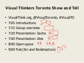 Organize, Share, Learn - Visual Thinkers Toronto
