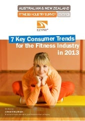 7 Consumer Trends for The Fitness Industry in 2013