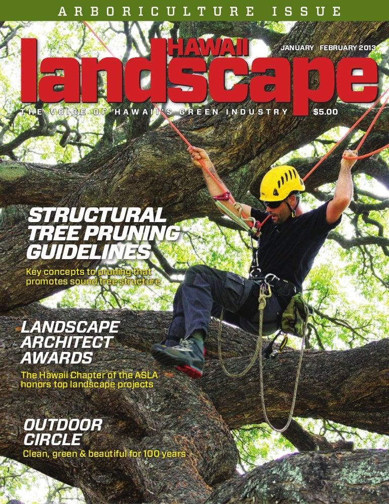 LICH Landscape Hawaii Magazine - January/February 2013 Issue