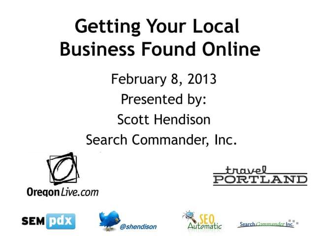 Local Listing Fundamentals