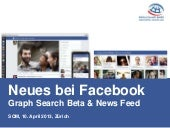 Facebook Graph Search und News Feed