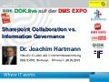 "[DE] Vortrag ""Sharepoint Collaboration vs. Information Governance"" 
