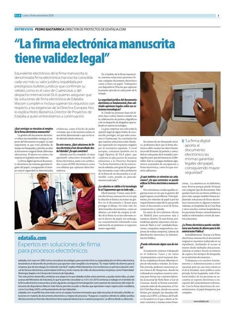 20131223 cinco dias_edatalia_firma electronica manuscrita tienen validez legal
