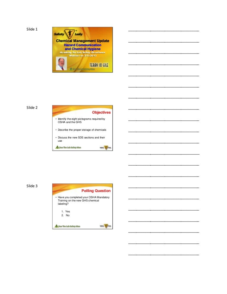 2013 academy chemical managemenet - march 13 handouts