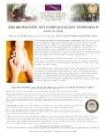 Aromatherapy with Reflexology CE Workshop