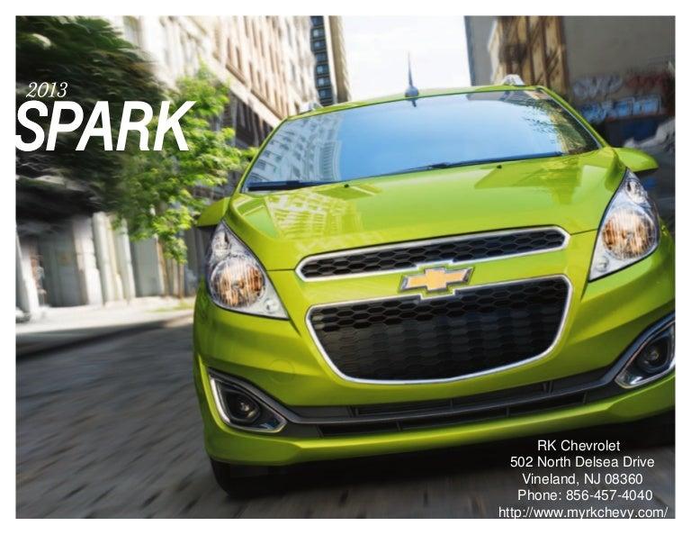 Chevrolet Spark Brochure South Jersey Chevrolet Dealer - Chevrolet dealer chicago il