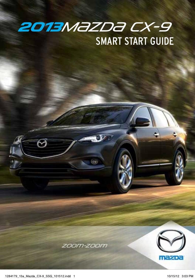 2013 Mazda Cx 9 Smart Start Guide Timing Belt