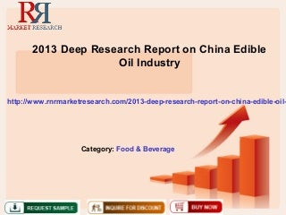 Emerging Investment Opportunity in Edible Oil Industry in India SlideShare