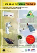 Handbook for Green Products - Edition 2013