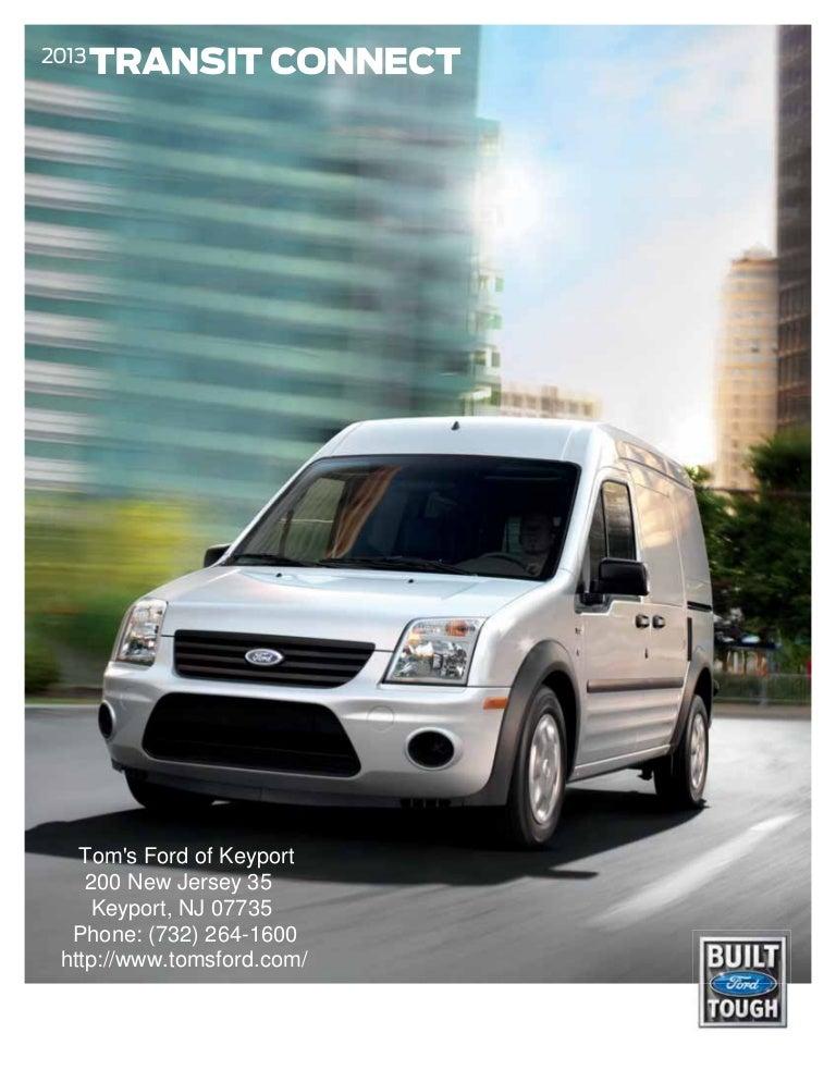 Ford Transit Wagon >> 2013 Ford Transit Connect for Sale NJ | Ford Dealer Keyport