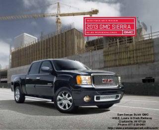 2013 GMC Sierra Brochure IN - Clarksville GMC Dealer