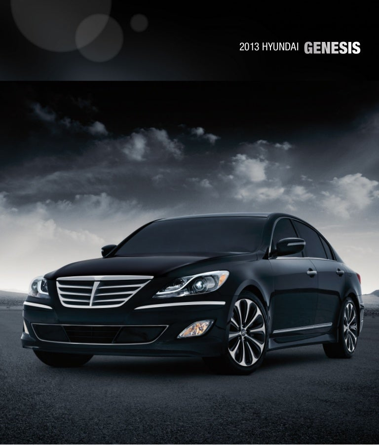 2013 Hyundai Genesis Brochure Glenbrook Hyundai Happy Car Store Fort