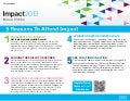 Top Five Reasons to Attend IBM Impact 2013