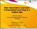 Keynote - Personalised Learning