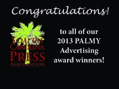 2013 PALMY Ad Contest Winners