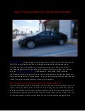 2013 Toyota Avalon in Orlando turns heads