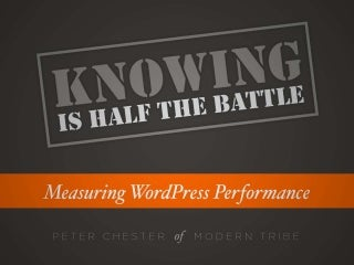 Measuring WordPress Performance
