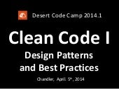 Clean Code Part i - Design Patterns and Best Practices -