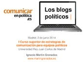 Los blogs políticos