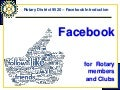 2014 08 Facebook for Rotary (beginners)