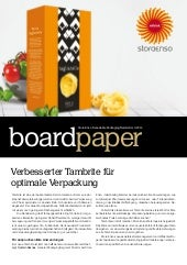 2014-1 Board Paper by Stora Enso Consumer Board, Deutsch