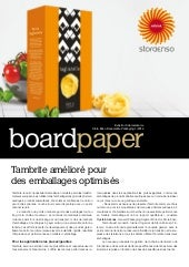 2014-1 Board Paper by Stora Enso Consumer Board, French