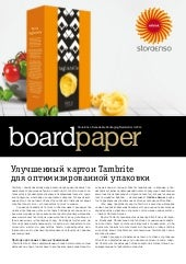 2014-1 Board Paper by Stora Enso Consumer Board, Russian