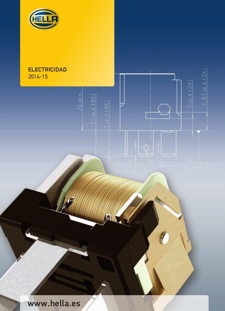 12V con soporte HELLA 4DN 008 768-121 Rel/é de intermitencia electr/ónico