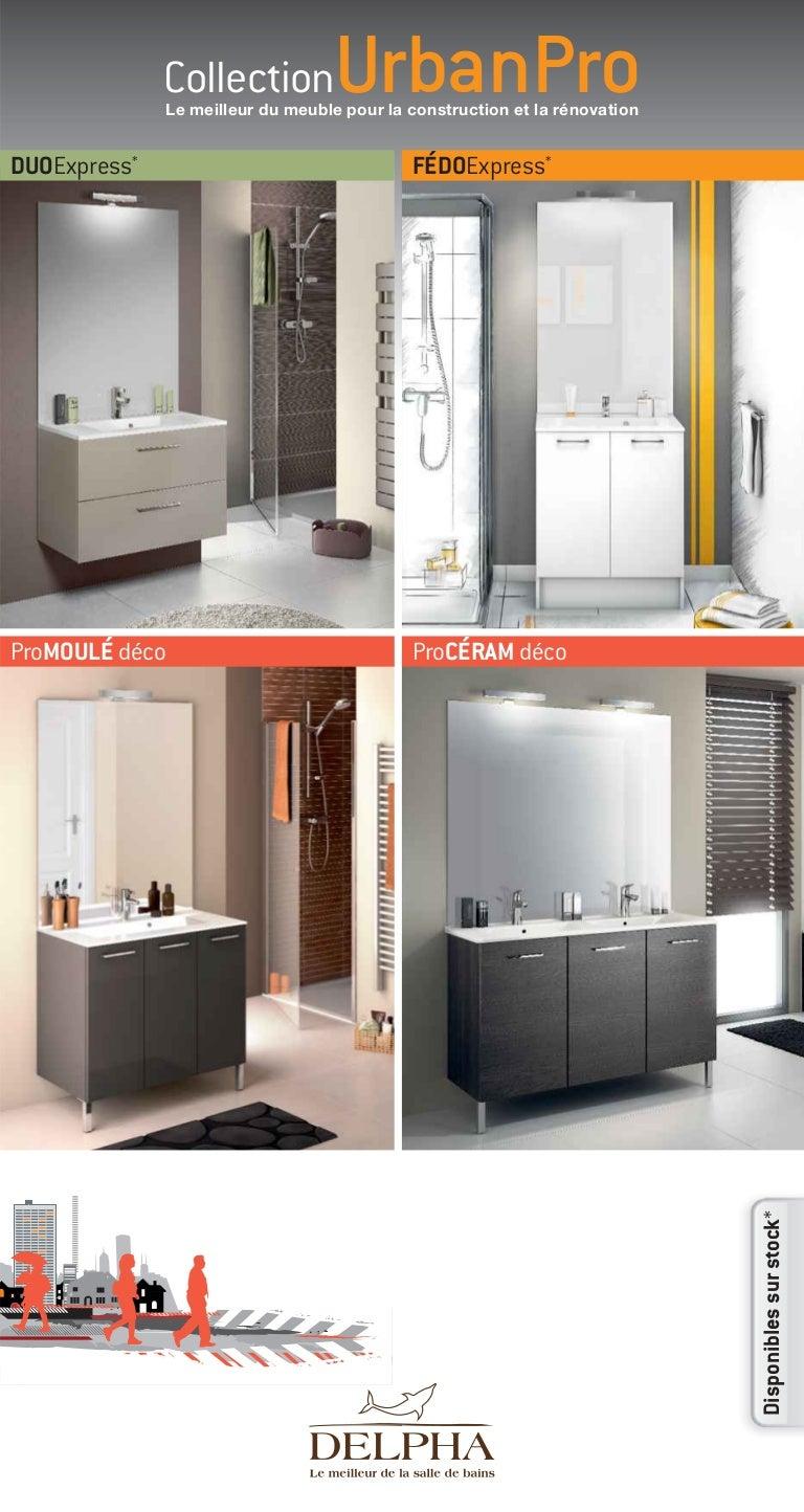 2014 catalogue meubles de salle de bains urbanpro de delpha - Meuble De Salle De Bain Delpha