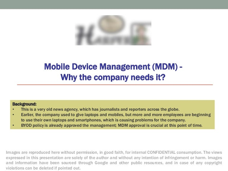 2014 mobile device management mdm case study news agency maxwellsz