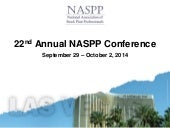 22nd Annual NASPP Presentation - 2014