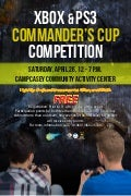 Commander's Cup XBOX and PS3 Competition