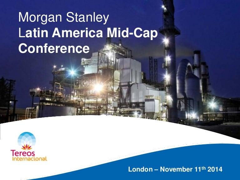 Conferência Morgan Stanley - Londres