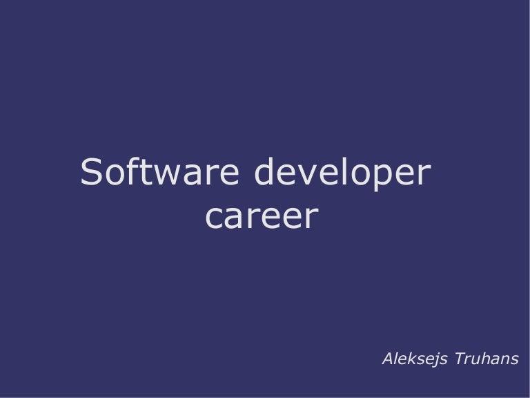Starting a Software Developer Career
