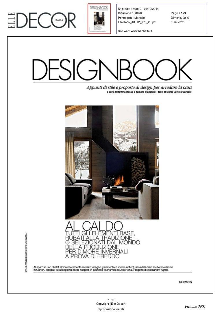 Camino Per La Casa 2014-12-01 - elle decor - luci di fiemme lagonero