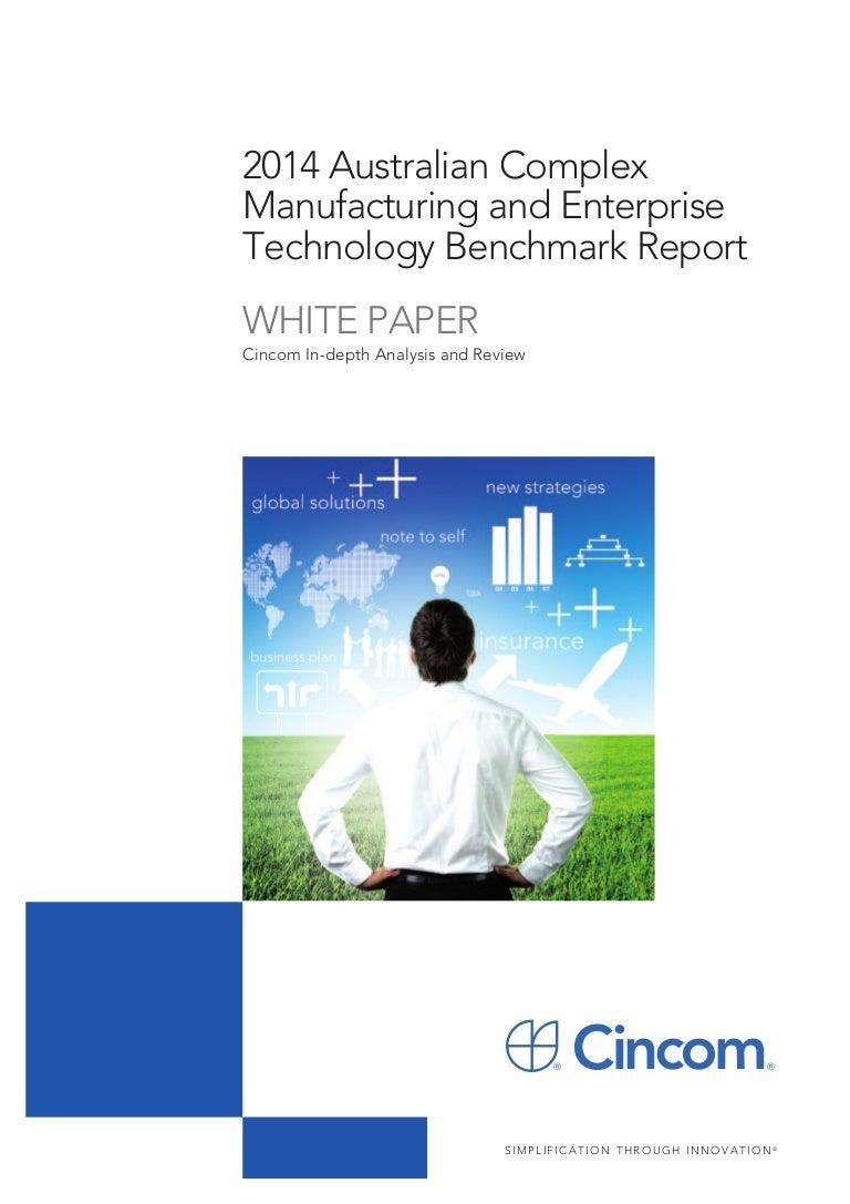 2014 Australian Complex Manufacturing And Enterprise