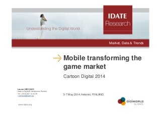 Mobile video game market trends & stakes