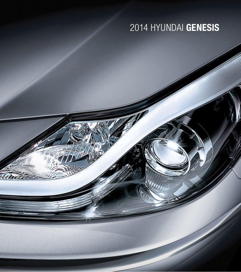 2014 Hyundai Genesis Brochure Glenbrook Hyundai Happy Car Store Fort